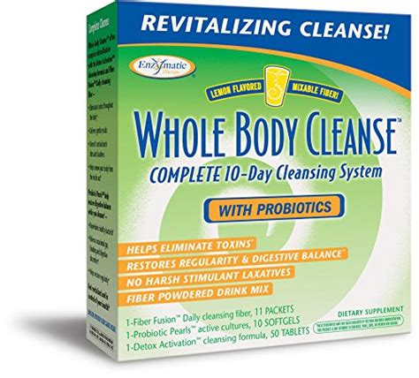 Whole Detox Reviews by Enzymatic Therapy Whole Cleanse Kit With Probiotics