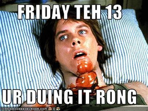 Friday The 13 Meme - the spooky vegan happy friday the 13th