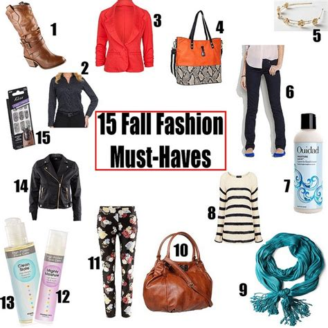 chic on the fall fashion must haves