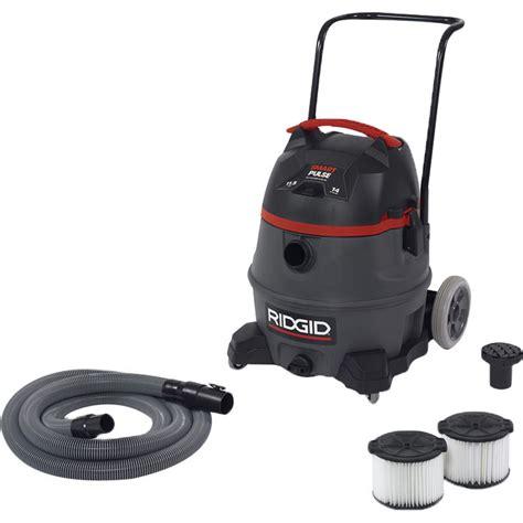 Ridgid Rv3410 Fourteen Gallon Smart Pulse Wet Dry Vacuum