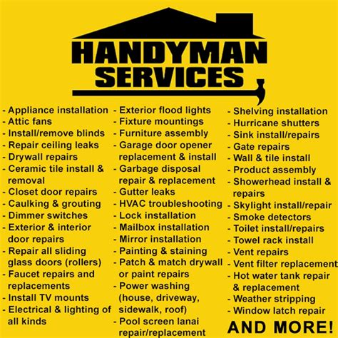 %name handyman business cards   Handyman Business Names ? The Ultimate Guide