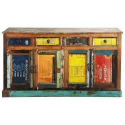 Beautiful Maison Du Monde Chambre Bebe #6: Buffet-en-bois-recycle-multicolore-l-165-cm-recup-1000-4-0-121401_1.jpg