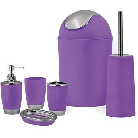 purple bathroom sets 25 best ideas about purple bathroom accessories on