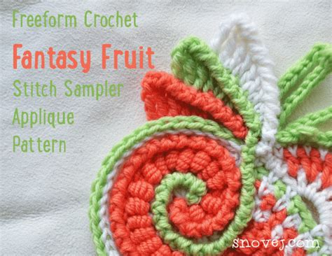 pattern library crochet freeform scrumbles by marina project crochet