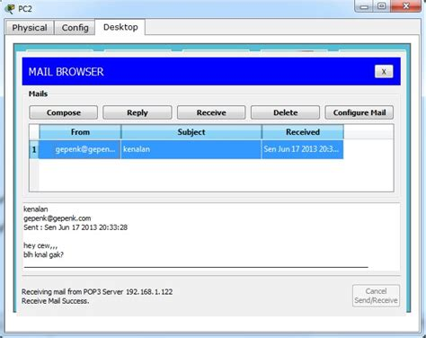 cara konfigurasi dns server di packet tracer cara konfigurasi mail server dhcp server dns server di