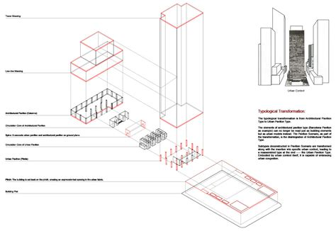 seagram building floor plan seagram building plan elements seagram building seagram