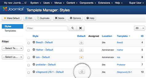 template joomla default how to install joomla template tutorial