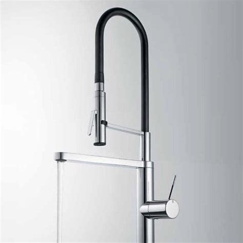 kwc ono kitchen faucet kwc ono highflex single side lever faucet 10 151 423 kitchen faucet from home
