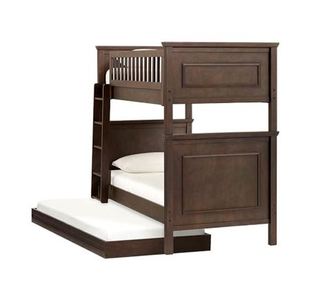 pottery barn kids bunk beds fillmore twin over twin bunk bed pottery barn kids