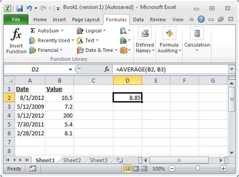 Average Spreadsheet by Ms Excel How To Use The Average Function Ws