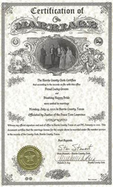 Marriage Records Houston Remember Don T To Get Married In Harris County Just