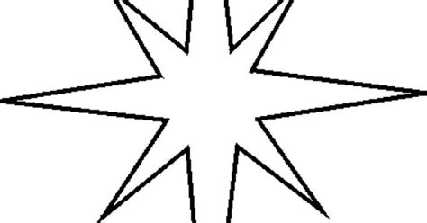 printable moravian star here are your free christmas stencils star stencil