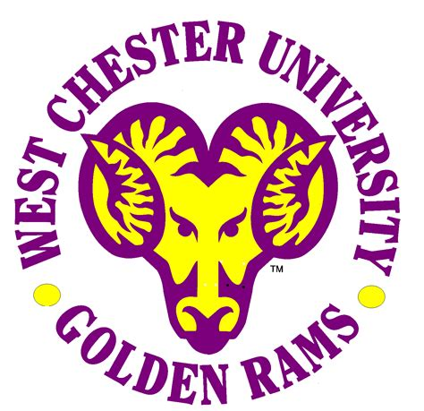West Chester Pa Mba by West Chester Golden Rams Official Logo Go
