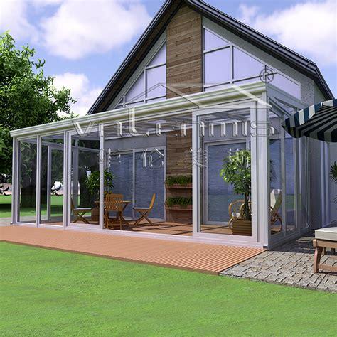 veranda glas nieuwe gelamineerd glas dak veranda glas kamer kas voor