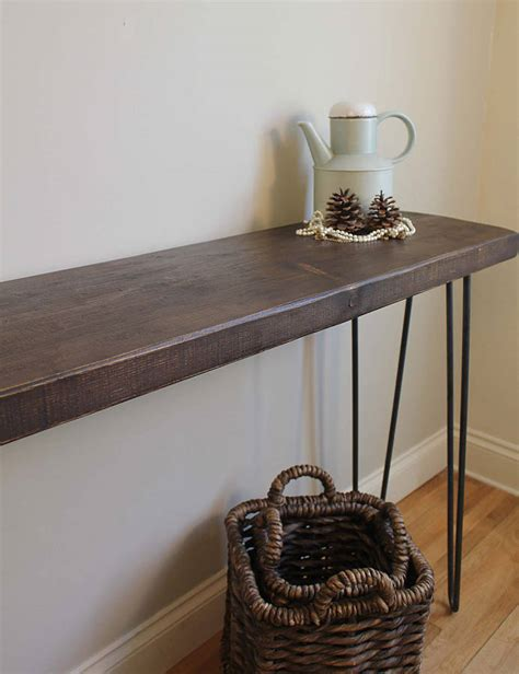 industrial style console table industrial style console table by m 246 a design