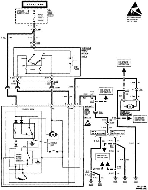 wiper motor wiring diagram efcaviation