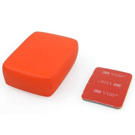 tmc floaty float box with 3m adhesive for gopro hr101 or orange jakartanotebook