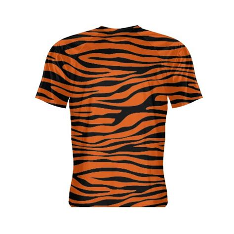 Stripe Sleeve Shirt tiger print sleeve shirt tiger striped shirt