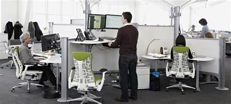herman miller sit stand desk the sit to stand invasion widmer interiors blog