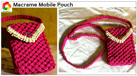 Handmade Mobile Pouch - easy mobile pouch how to make handmade mobile using