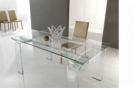 tavoli allungabili semeraro arredare la zona giorno i tavoli in vetro allungabili