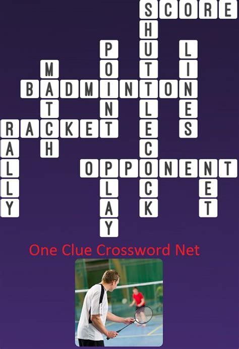 badminton  answers   clue crossword