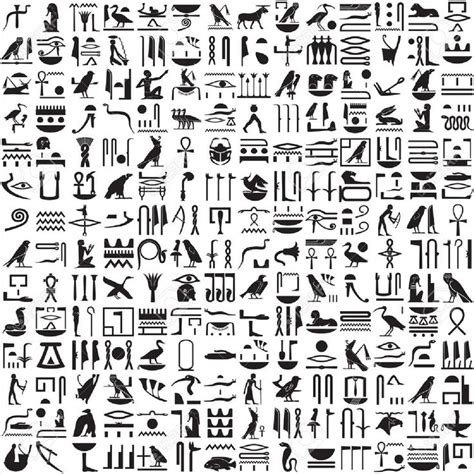 dafont egyptian ancient egyptian hieroglyphics clipart history of