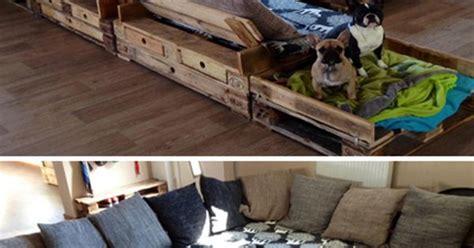 riesen sofa eine riesen sofa ecke aus aufbereiteten europaletten