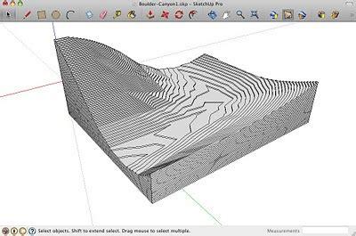 sketchup layout crop view slicer3 make physical site models fast sketchup blog