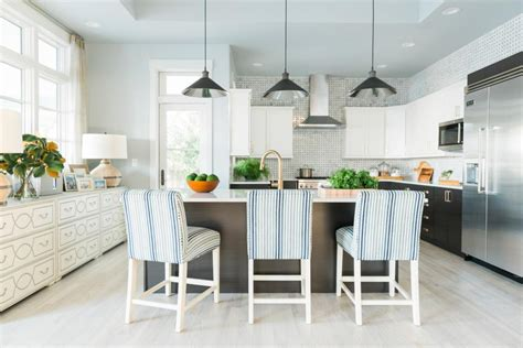 ethan allen kitchen stools lively coastal house is hgtv home 2016