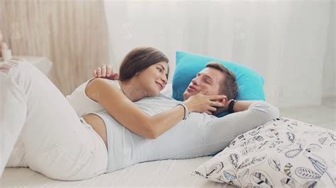 cuddle in bed cute couple cuddling and talking on bed youtube