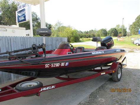 javelin bass boat javelin 19 renegade boats for sale
