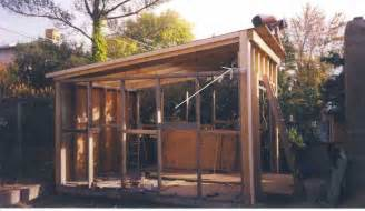 Slant Roof Garage by Bench Design More Shed Plans Slant Roof