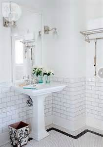 Floor Tile And Decor by Bathroom Bathrooms Decor Pedestal And White Subway Tiles