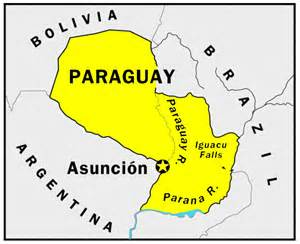 paraguay map south america paraguay south america