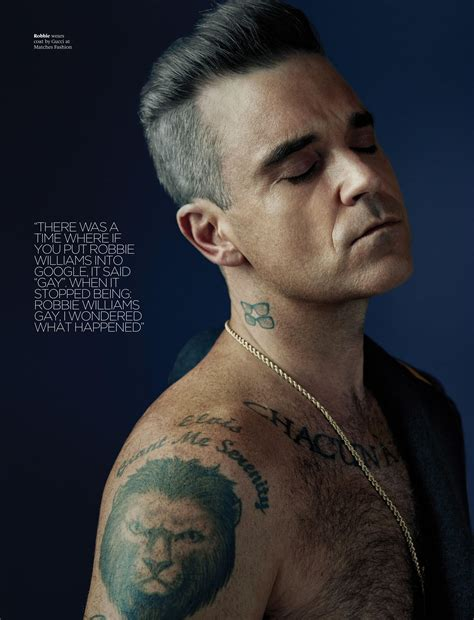 robbie williams robbie williams for attitude december 2016 tee vanity com
