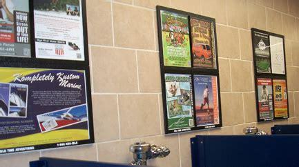 bathroom advertising ita promotions baltimore md guerrilla marketing
