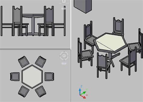 planos de mesa hexagonal comedor en mesas  juegos de