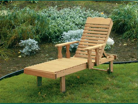 Adjustable Lounge Chair Outdoor Design Ideas Amish Pine Wood Chaise Lounge With Adjustable Back
