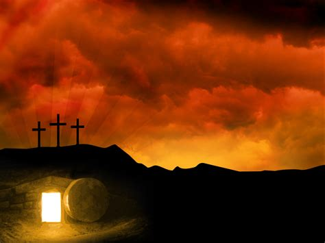 easter sunday jesus resurrection easter resurrection background free large images