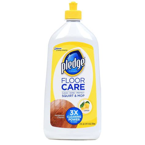 pledge ready to use 27 oz wood floor cleaner 6 pack