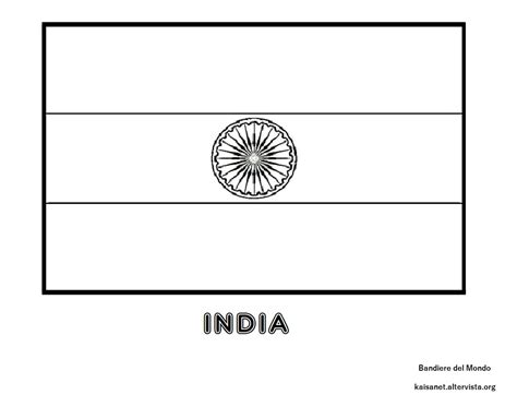 india flag coloring page geography blog india flag