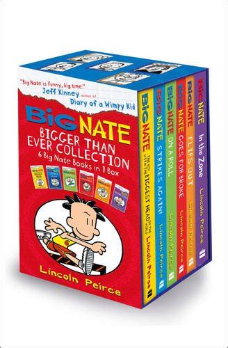 Big Nate 06 Big Nate In The Zone big nate series collection lincoln peirce 6 books box set
