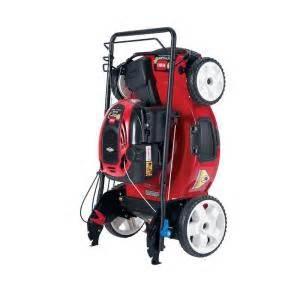 refurbished lawn mowers home depot toro refurbished 22 in high wheel variable speed walk