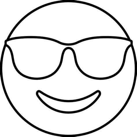 Emoji Coloring Pages Printable