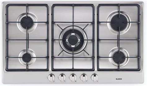 gas cooktop with wok burner new blanco 90cm 5 burner wok burner gas cooktop