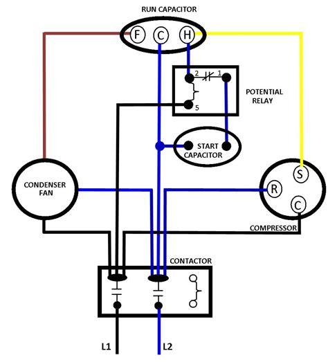 ac compressor wiring ac free engine image for user