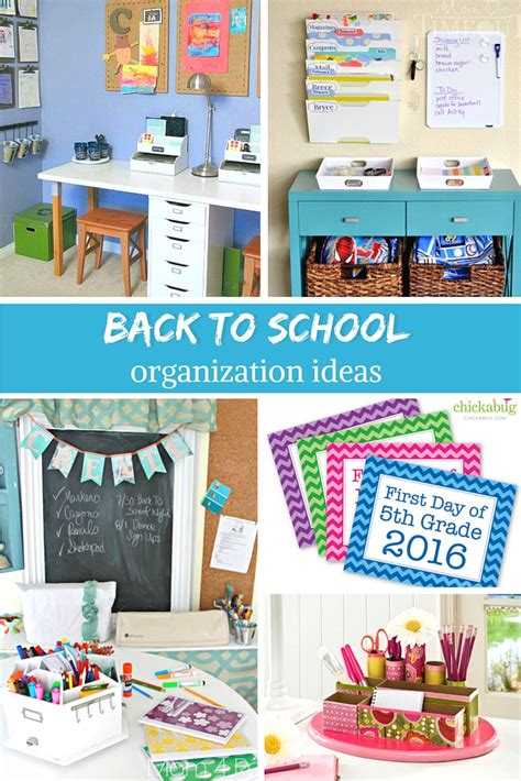 Back To School Desk Organization Craftaholics Anonymous 174 Back To School Organization Tips
