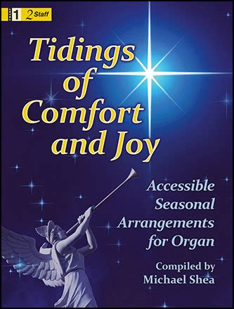 christmas song comfort and joy tidings of comfort and joy by complied by michael j w