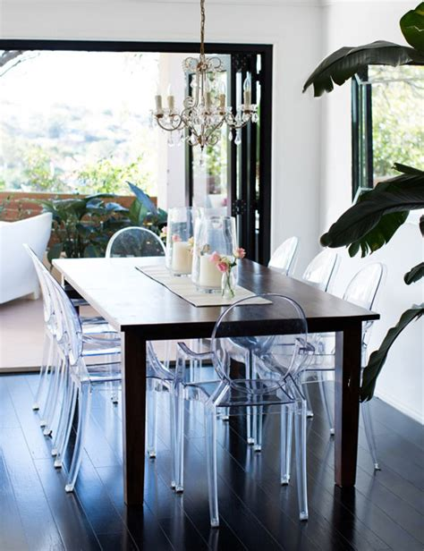 Design Acrylic Dining Chairs Ideas Family Friendly Happy Home Of Honey Fizz Erika Brechtel